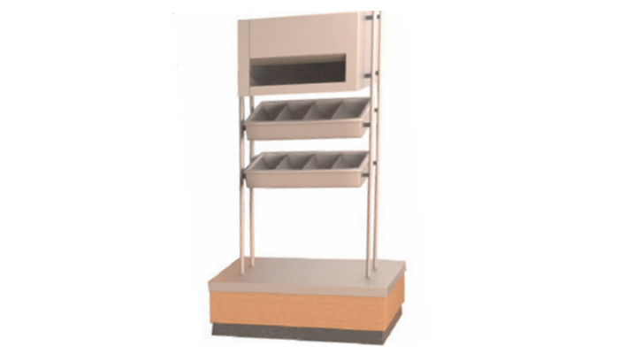 sapinox meuble porte plateau couvert. Black Bedroom Furniture Sets. Home Design Ideas